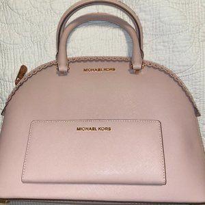 Michael Kors Blush Pink Tote& Wallet Set